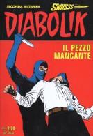 DIABOLIK N°226   IL PEZZO MANCANTE - Diabolik
