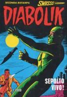 DIABOLIK N°8  SEPOLTO VIVO - Diabolik