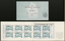 ITALIA - BOOKLET - LIBRETTO CONVEGNO FILATELICO DI MILANO 1981 - Perfetto  - Accademia Navale Livorno - Militaria