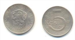 CECOSLOVACCHIA 5 KORONE  ANNO 1967 - Cecoslovacchia