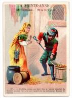 CHROMOS & IMAGES, CHROMOS, A SAINTE-ANNE - Mercerie-Passementerie... - Chromos