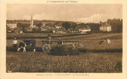 Réf : PIE-14 - 314 :  FRAISANS  Attelage Agricole - Francia