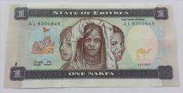 ERITREA 1 NAFKA 1997 UNC - Eritrea