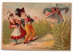 CHROMOS & IMAGES, CHROMOS, GANUCHAUD Frères - Draperies & Nouveautés...,Vierge - Chromos