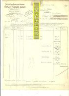 76 - Seine-maritime - ROUEN - Facture VERSTAEN-CHEVET - Coffres-forts Réfractaires – 1926 - REF 160 - France