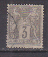 PGL CJ692 - FRANCE N°87 - 1876-1898 Sage (Type II)