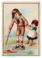 CHROMOS & IMAGES, CHROMOS, Image, Sauvetage D'un Chapeau..., Vierge - Vieux Papiers