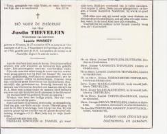 Justin Thevelein (1874-1960) - Images Religieuses