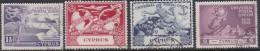 Cyprus 1949 UPU Used Set - Unclassified
