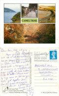 Camel Trail Railway Line, Padstow, Cornwall, England Postcard Posted 2000s Stamp - England