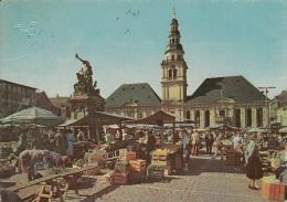 MANNHEIM ALTES RATHAUS UND MARKT - Halles