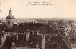 CPA LUXEUIL LES BAINS - VUE PRISE DE LA TOUR - Luxeuil Les Bains