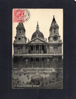 """50466    Regno  Unito,   London,  St. Paul""""s  Cathedral,  VG  1914 - St. Paul's Cathedral"""