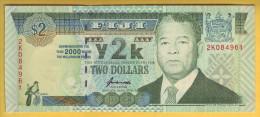 FIDJI - Billet De 2 Dollars. 2000. Pick: 94. NEUF - Fidji