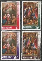 Montserrat. 1968 Christmas. MH Complete Set. SG 209-212 - Montserrat