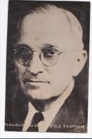 Carte 1940 PRESIDENT DES ETATS UNIS H.S  TRUMAN - People