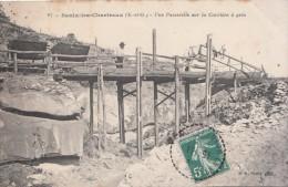 SAULX LES CHARTREUX (91) UNE PASSERELLE SUR LA CARRIERE DE GRES - Non Classificati
