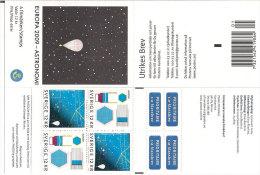 Sweden Sverige 2009 Europe Cept Astronomy - MH 324  - Mi 2687-2688 , MNH(**) - Nuovi