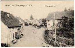 Gruss Aus Niedersept, O.-Els - Obersepterstrasse - France