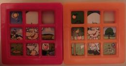 Taquin - Petit-déjeuner Apple-Minis De Nestlé - 1998 à 2003 - Série De 6 - Casse-têtes