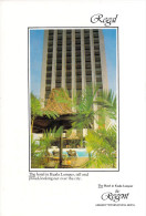 Asie MALAYSIA Malaisie  The REGENT Of KUALA LUMPUR Jalan Sultan Ismael  HOTEL *PRIX FIXE - Malaysia