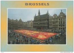 BRUXELLES GRAND´PLACE : TAPIS DE FLEURS - Multi-vues, Vues Panoramiques