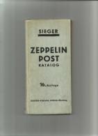 SIEGER ZEPPELIN POST KATALOG  16.Auflage - Germania
