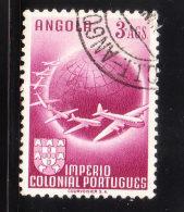 Angola 1949 Air Post Stamp 3a Used - Angola