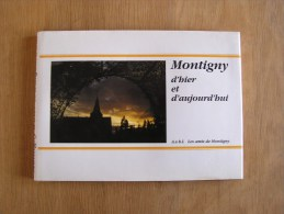 MONTIGNY D' HIER ET D' AUJOURD' HUI  Régionalisme En Cartes Postales Anciennes Montigny Le Tilleul Café Rues Bomerée - Cultural