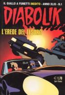 DIABOLIK N°1  L'EREDE DEL TESORO - Diabolik
