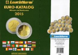 Coins EURO Katalog Deutschland 2015 Für Münzen Numisblätter Numis-Briefe New 10€ Mit €-Banknoten Catalogue Of EUROPA - Altre Collezioni
