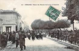 33 - Libourne - Retour Des Manoeuvres Du 57e D'Infanterie (Tabac) - Libourne