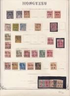 Mongtzeu - collection sur pages Yvert Standard cote : 1289� - 3 scans
