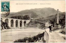 Saint Victor Sur Loire - Usine Et Viaduc ( Lib. Giroud ) - France
