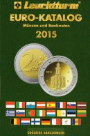 EURO-Katalog Deutschland+aller €-Länder 2015 New 10€ Münzen Für Numis-Briefe/Numisblätter Aktuell Book With Coins/notes - Télécartes