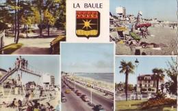 LA BAULE - 44 - CPSM - Multivues - La Baule-Escoublac