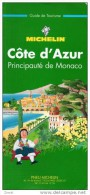 CÔTE D´AZUR - PRINCIPAUTE DE MONACO : GUIDE DE TOURISME MICHELIN N°11 / 276 PAGES / 3EME EDITION 1996 - Michelin (guides)