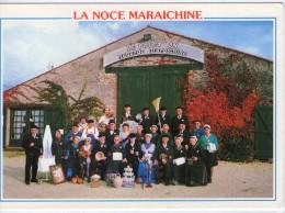 """Le Fenouiller.. Animée.. Noce Maraîchine.. à La Grange-Auberge Du Pouct'on.. """"les Joyeux Compères Du Marais"""" - Autres Communes"""