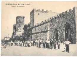 CAMPANIA-CASERTA-MIGNANO DI MONTE LUNGO CASTELLO FIERAMOSCA ANIMATISSIMA - Italia