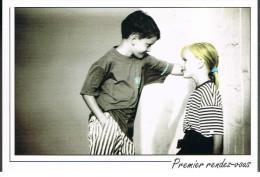 Premier Rendez-vous (garçon-fille) - Collection AS De Coeur - Scènes & Paysages