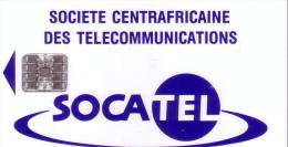 CENTRAFRICAINE SOCATEL 60U SC7 SANS N° VERSO WITHOUT N° BACK UT - Central African Republic