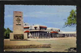 ALGERIE- CpCOLOMB BECHAR--Bordj Administratif  +OBLIT F M  POSTE AUX ARMEES 1962 1 10 - Postmark Collection (Covers)