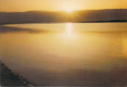 Asie (JORDANIE JORDAN ?) Sunrise At The Dead Sea - Lever Du Soleil à La Mer Morte (Editions : I.Amad 236)*PRIX FIXE - Jordanie
