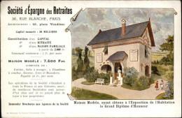 BANQUES - Société D'Epargne Des Retraites - Carte Pub - Banques