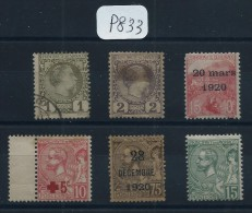 MONACO PETIT LOT DE 6 VALEURS  1 OBL ET 5 NEUFS  ETATS VARIABLE COTE 160€ - Collections, Lots & Séries