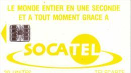 CENTRAFRICAINE SOCATEL 20U SC7 N° ROUGES C54149...... UT - Centraal-Afrikaanse Republiek