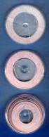 3 RUBANS ROUGE POUR MACHINE A MARQUER DYMO OU AUTRE 12mmX3m FERMETURE PAPETERIE SCOLAIRE BUREAU ENTREPRISE ARCHITECTE... - Andere Sammlungen