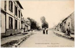 Noyers Saint Martin - Vue De La Place ( Breteuil Imp.) - France