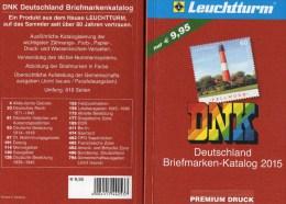 Netto Katalog Deutschland DNK 2015 New 10€ Marken D Bavaria DR III.Reich Saar Memel Danzig SBZ DDR Berlin AM Bi-Zone BRD - Libri, Riviste, Fumetti