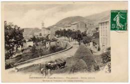 Coursegoules - Vue Générale ... Service De Voitures - Autres Communes